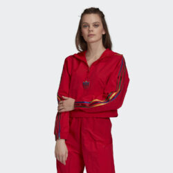 Προσφορά από το Cosmossport σε adidas Originals  - adidas Originals Cropped Halfzip Γυναικείο Crop Top (9000058924_10260) - DealFinder.gr
