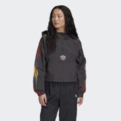 Προσφορά από το Cosmossport σε adidas Originals  - adidas Originals Cropped Halfzip Γυναικείο Φούτερ (9000058890_1469) - DealFinder.gr