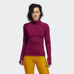 Προσφορά από το Cosmossport σε adidas Performance  - adidas Performance COLD.RDY Mock-Neck Γυναικεία Μπλούζα με Μακρύ Μανίκι για Προπόνηση (9000059024_47253) - DealFinder.gr
