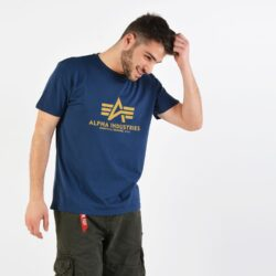 Προσφορά από το Cosmossport σε Alpha Industries  - Alpha Industries Basic Ανδρικό T-Shirt (9000029701_2756) - DealFinder.gr