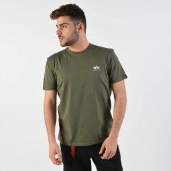 Προσφορά από το Cosmossport σε Alpha Industries  - Alpha Industries Men'S Basic Small Logo T-Shirt - Ανδρικό Μπλουζάκι (9000029726_9061) - DealFinder.gr