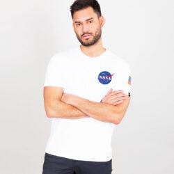 Προσφορά από το Cosmossport σε Alpha Industries  - Alpha Industries Space Shuttle Ανδρικό T-shirt (9000064841_1539) - DealFinder.gr