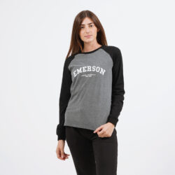 Προσφορά από το Cosmossport σε Emerson  - Emerson Γυναικεία Μπλούζα με Μακρύ Μανίκι (9000054082_27783) - DealFinder.gr