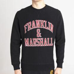 Προσφορά από το Cosmossport σε Franklin & Marshall  - Franklin & Marshall Patched Logo Ανδρικό Φούτερ (9000066853_1469) - DealFinder.gr