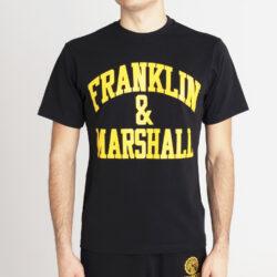 Προσφορά από το Cosmossport σε Franklin & Marshall  - Franklin & Marshall Big Logo Aνδρικό T-Shirt (9000066829_1469) - DealFinder.gr