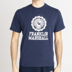 Προσφορά από το Cosmossport σε Franklin & Marshall  - Franklin & Marshall Logo Aνδρικό T-Shirt (9000066832_1629) - DealFinder.gr