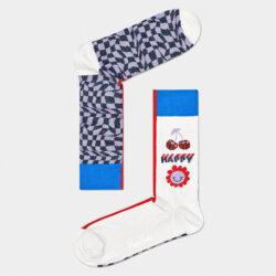 Προσφορά από το Cosmossport σε Happy Socks  - Happy Socks Half/half Optic Κάλτσες (9000065912_2074) - DealFinder.gr