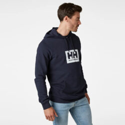 Προσφορά από το Cosmossport σε Helly Hansen  - Helly Hansen Logo Ανδρική Μπλούζα με Κουκούλα (9000065363_1629) - DealFinder.gr