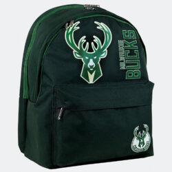 Προσφορά από το Cosmossport σε NBA  - NBA Milwaukee Bucks Σακίδιο 2 Θέσεων 25L (9000062163_48584) - DealFinder.gr