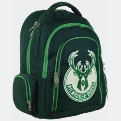 Προσφορά από το Cosmossport σε NBA  - NBA Milwaukee Bucks Οβάλ Σακίδιο Πλάτης 30L (9000062162_48584) - DealFinder.gr