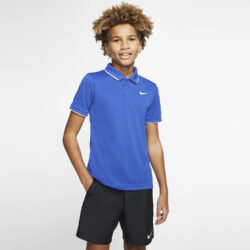 Προσφορά από το Cosmossport σε Nike  - Nike Court Dri-Fit Tennis Boy's Polo (9000043663_6078) - DealFinder.gr