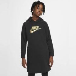 Προσφορά από το Cosmossport σε Nike  - Nike Sportswear Παιδικό Φόρεμα με Κουκούλα (9000056525_1480) - DealFinder.gr