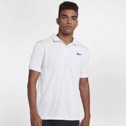 Προσφορά από το Cosmossport σε Nike  - Nike Court Dry Team Ανδρικό Πόλο T-Shirt (9000024449_8921) - DealFinder.gr