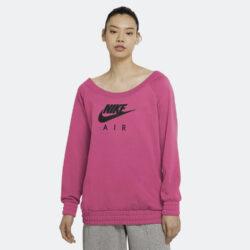 Προσφορά από το Cosmossport σε Nike  - Nike Air Crew Fleece Γυναικείο Φούτερ (9000055165_46370) - DealFinder.gr