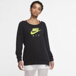 Προσφορά από το Cosmossport σε Nike  - Nike Air Fleece Γυναικεία Μακρυμάνικη Μπλούζα (9000056432_6774) - DealFinder.gr