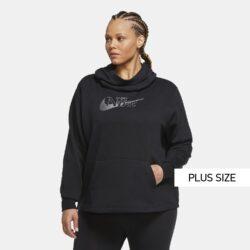 Προσφορά από το Cosmossport σε Nike  - Nike Sportswear Icon Clash Funnel PLus Size Γυναικείο Φούτερ (9000056478_11816) - DealFinder.gr