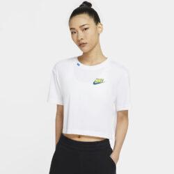 Προσφορά από το Cosmossport σε Nike  - Nike Sportswear Worldwide Γυναικείο Crop Top (9000056588_1539) - DealFinder.gr