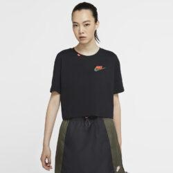 Προσφορά από το Cosmossport σε Nike  - Nike Sportswear Worldwide Γυναικείο Crop Top (9000056587_1469) - DealFinder.gr