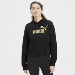 Προσφορά από το Cosmossport σε puma  - Puma Essentials + Γυναικείο Crop Top με Κουκούλα (9000057000_22492) - DealFinder.gr