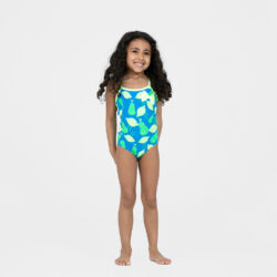Προσφορά από το Cosmossport σε Speedo  - Speedo Fan Flower Bow Swimsuit For Girls (9000037945_9983) - DealFinder.gr