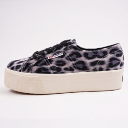 Προσφορά από το Cosmossport σε Superga  - Superga 2790 Platform Velvet Sneakers (9000064473_49024) - DealFinder.gr