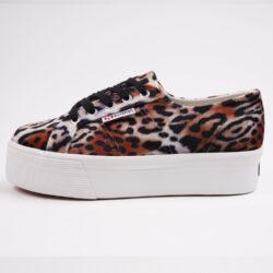 Προσφορά από το Cosmossport σε Superga  - Superga 2790 Platform Velvet Sneakers (9000064474_49026) - DealFinder.gr