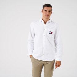 Προσφορά από το Cosmossport σε Tommy Jeans  - Tommy Jeans Ανδρικό Πουκάμισο (9000065085_1539) - DealFinder.gr