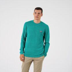 Προσφορά από το Cosmossport σε Tommy Jeans  - Tommy Jeans Corp Logo Ανδρική Πλεκτή Μπλούζα (9000065119_49129) - DealFinder.gr