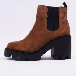Προσφορά από το Cosmossport σε Tommy Jeans  - Tommy Jeans Essential Suede Mid Heel Γυναικείες Μπότες (9000065220_49174) - DealFinder.gr