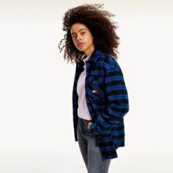 Προσφορά από το Cosmossport σε Tommy Jeans  - Tommy Jeans Γυναικείο Πουκάμισο (9000065152_49150) - DealFinder.gr