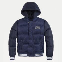 Προσφορά από το Cosmossport σε Tommy Jeans  - Tommy Jeans Bomber Παιδικό Μπουφάν με Κουκούλα (9000065243_45076) - DealFinder.gr
