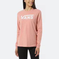 Προσφορά από το Cosmossport σε vans  - Vans Flying V Classic Longsleeve Boyfriend T-shirt (9000061972_48493) - DealFinder.gr