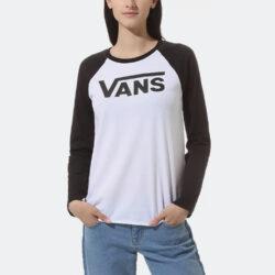 Προσφορά από το Cosmossport σε vans  - Vans Fyinh V Longsleeve Raglan Γυναικείο T-shirt (9000061948_1540) - DealFinder.gr