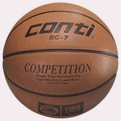 Προσφορά από το Cosmossport σε Conti  - Conti BC-7S Μπάλα για Μπάσκετ No. 7 Conti BC-7S (9000009355_17029) - DealFinder.gr