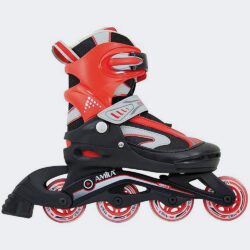 Προσφορά από το Cosmossport σε Amila  - Amila Πατινια Inline Skate 30-33 Κοκκινο-Μαυρο (3229330022_17029) - DealFinder.gr