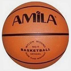 Προσφορά από το Cosmossport σε Amila  - Μπαλα Μπασκετ Amila Rubber No5 (5024500036_008) - DealFinder.gr