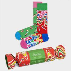 Προσφορά από το Cosmossport σε Happy Socks  - Happy Socks 2-Pack Psychedelic Candy Cane Gift Set Κάλτσες (9000065941_2074) - DealFinder.gr