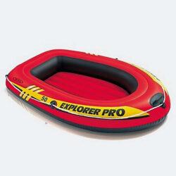 Προσφορά από το Cosmossport σε INTEX  - INTEX Explorer Pro 50 Φουσκωτή Βάρκα 138 X 85 X 23 Cm (9000011710_17029) - DealFinder.gr
