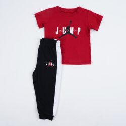 Προσφορά από το Cosmossport σε JORDAN  - Jordan Jump Ss Tee And Jogger Set Παιδικό Σετ (9000057173_1469) - DealFinder.gr