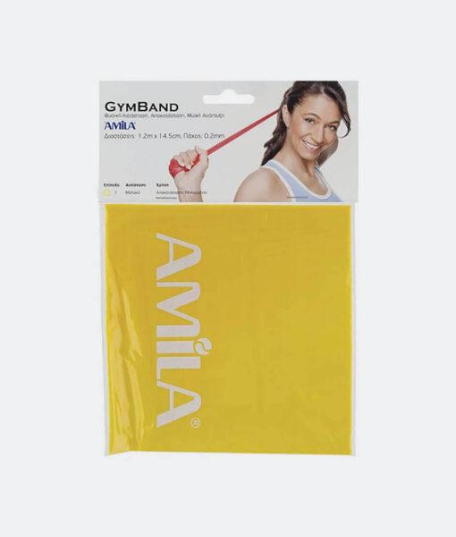 Προσφορά από το Cosmossport σε Amila  - Amila Λάστιχο Gym Band Ultra Light 120 Cm X 0,02 Cm (3056300066_2005) - DealFinder.gr