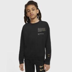 Προσφορά από το Cosmossport σε Nike  - Nike Sportswear Swoosh Παιδική Μακρυμάνικη Μπλούζα (9000056784_19876) - DealFinder.gr