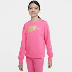 Προσφορά από το Cosmossport σε Nike  - Nike Sportwear Club Shine Παιδική Μπλούζα Φούτερ (9000056522_46866) - DealFinder.gr