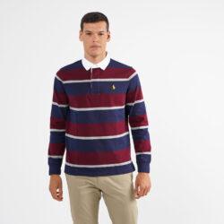 Προσφορά από το Cosmossport σε Polo Ralph Lauren  - Polo Ralph Lauren Aνδρική Μακρυμάνικη Μπλούζα με γιακά (9000064621_49061) - DealFinder.gr
