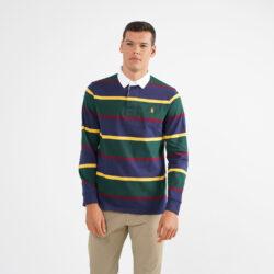 Προσφορά από το Cosmossport σε Polo Ralph Lauren  - Polo Ralph Lauren Aνδρική Μακρυμάνικη Μπλούζα με γιακά (9000064610_49062) - DealFinder.gr
