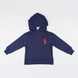 Προσφορά από το Cosmossport σε Polo Ralph Lauren  - Polo Ralph Lauren Βρεφική Μπλούζα με Κουκούλα (9000066788_33597) - DealFinder.gr