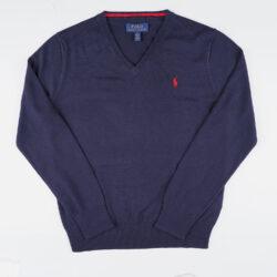 Προσφορά από το Cosmossport σε Polo Ralph Lauren  - Polo Ralph Lauren Knit Cotton Παιδική Πλεκτή Μπλούζα (9000066793_33597) - DealFinder.gr