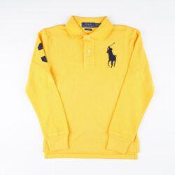 Προσφορά από το Cosmossport σε Polo Ralph Lauren  - Polo Ralph Lauren Εφηβική Polo Μπλούζα με Μακρύ Μανίκι (9000066781_49508) - DealFinder.gr