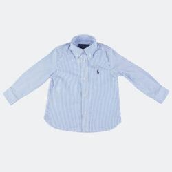 Προσφορά από το Cosmossport σε Polo Ralph Lauren  - Polo Ralph Lauren Slim Striped Oxford Βρεφικό Πουκάμισο (9000066804_49509) - DealFinder.gr