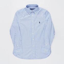 Προσφορά από το Cosmossport σε Polo Ralph Lauren  - Polo Ralph Lauren Slim Striped Oxford Εφηβικό Πουκάμισο (9000066803_49509) - DealFinder.gr