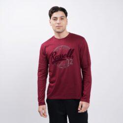 Προσφορά από το Cosmossport σε Russell Athletic  - Russell Logo Ανδρική Μπλούζα με Μακρύ Μανίκι (9000064159_23238) - DealFinder.gr